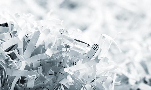 Niszczenie na mikrościnki zwiększa bezpieczeństwo danych